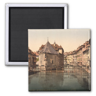 Old Palace and Canal, Annecy, France Fridge Magnet