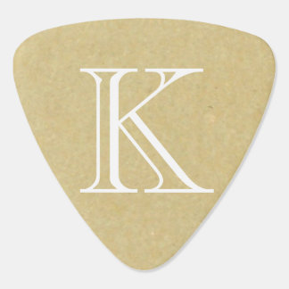 Old Paper Texture Background Guitar Pick