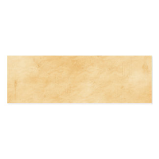 Old Parchment Background Stained Mottled Look Pack Of Skinny Business Cards