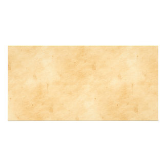 Old Parchment Background Stained Mottled Look Picture Card