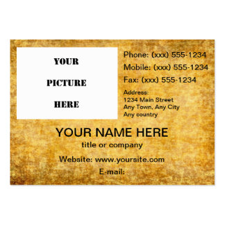 Old Parchment ~ Pack Of Chubby Business Cards