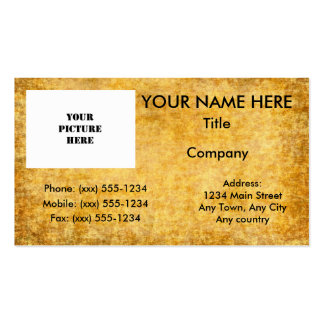Old Parchment ~ Pack Of Standard Business Cards