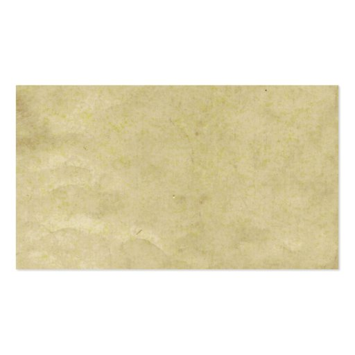 Old Parchment Paper Business Cards