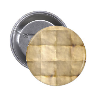 Old Parchment Treasure Map Paper Pinback Button