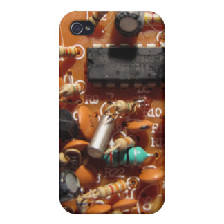 Old PC Board iPhone 4 Cover
