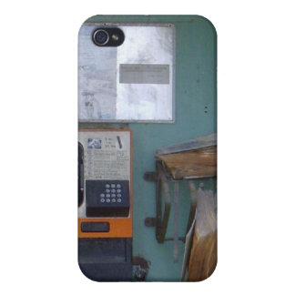 Old phone booth iphone 4 case