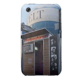 Old photo booth in Berlin, Germany iPhone 3 Case-Mate Case