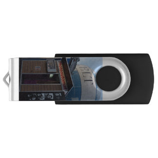 Old photo booth in Berlin, Germany Swivel USB 3.0 Flash Drive