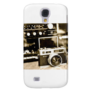 Old Photo Camera Galaxy S4 Cover