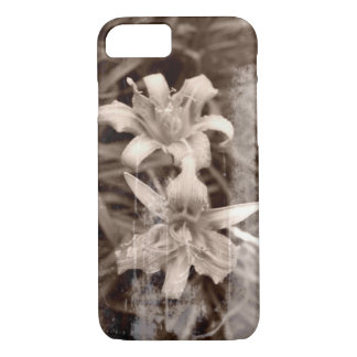 Old Photo Lily Flower Photography iPhone 8/7 Case