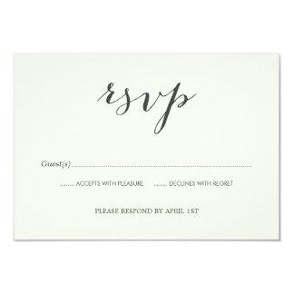 Old Photos Wedding RSVP card 9 Cm X 13 Cm Invitation Card