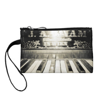 Old Piano Wristlet