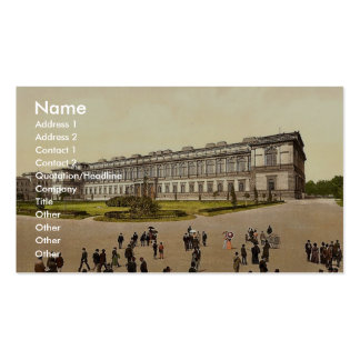 Old Pinakothek, Munich, Bavaria, Germany magnifice Business Card Templates