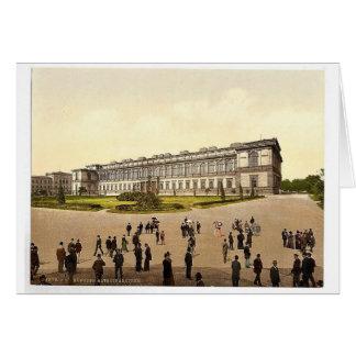 Old Pinakothek, Munich, Bavaria, Germany magnifice Greeting Card