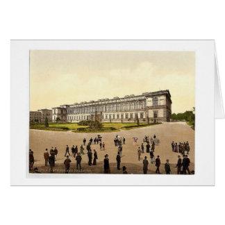 Old Pinakothek Munich Bavaria Germany magnifice Card