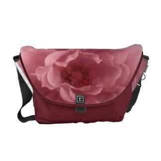 Old Pink Rose Courier Bag
