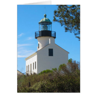 Old  Point Loma Lighthouse Card