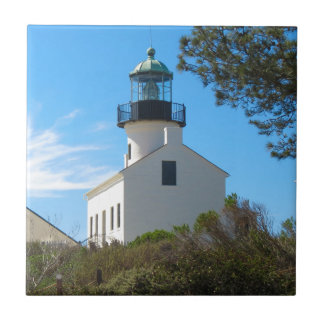 Old Point Loma Lighthouse Tile