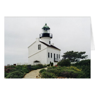 Old Point Loma Lightstation Card