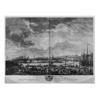Old Port of Toulon Print
