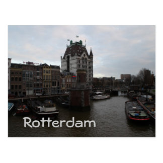 Old Port, Rotterdam Postcard