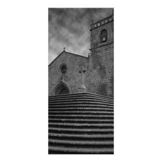 Old portuguese church rack card