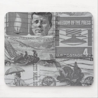 Old Postage Stamps Mousepad
