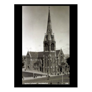 Old Postcard - Anglican Cathedral, Christchurch, N