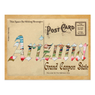 Old Postcard Arizona
