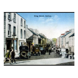 Old Postcard - Ballina, Co Mayo, Ireland