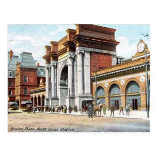 Old Postcard - Boston, Massachusetts, USA