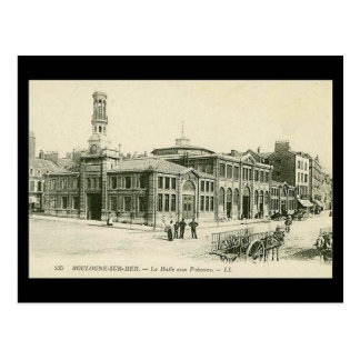 Old Postcard - Boulogne Fish Market