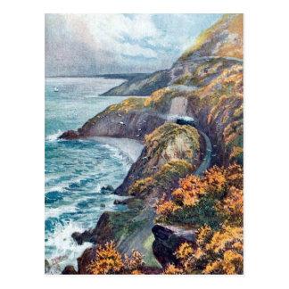 Old Postcard - Bray Head, Co Wicklow, Ireland