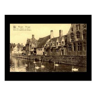 Old Postcard, Bruges Postcard