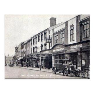 Old Postcard - Bury St Edmunds, Suffolk