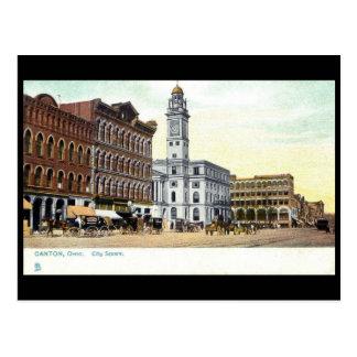 Old Postcard -Canton, Ohio, USA