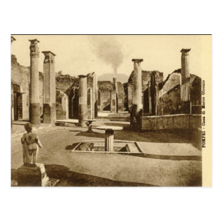 Old Postcard - Casa di Marco Olconio