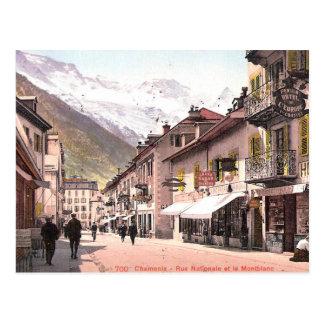 Old Postcard - Chamonix, Haute Savoie