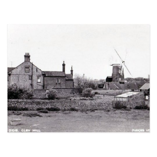 Old Postcard - Cley Mill, Norfolk