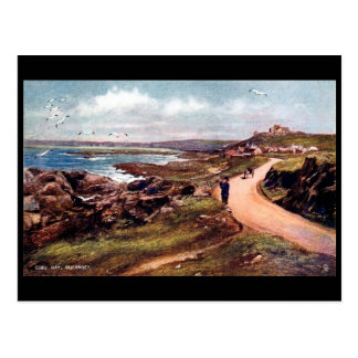 Old Postcard - Cobo Bay, Guernsey, Channel Islands