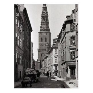 Old Postcard - Copenhagen, Denmark