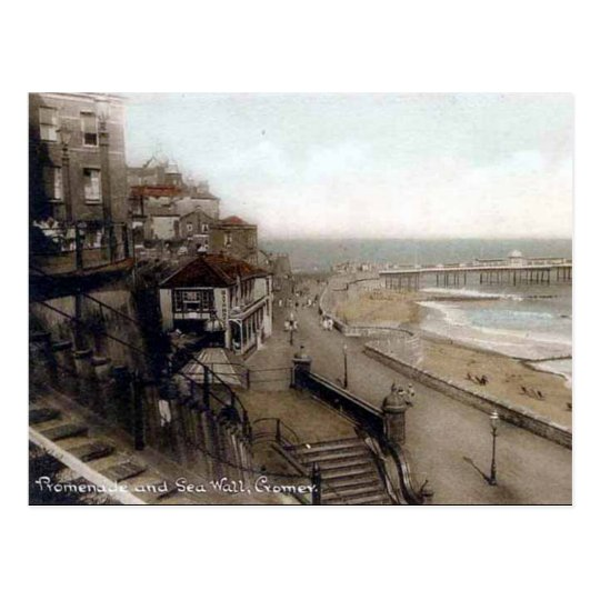 Old Postcard - Cromer, Norfolk