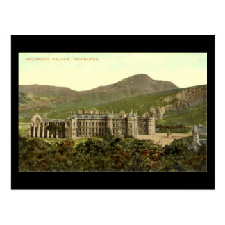 Old Postcard, Edinburgh, Holyrood Palace Postcard