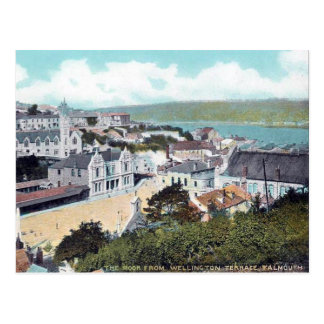 Old Postcard - Falmouth, Cornwall