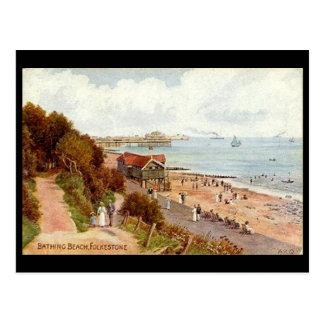 Old Postcard Folkestone, Kent