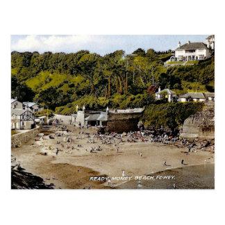 Old Postcard - Fowey, Cornwall, England