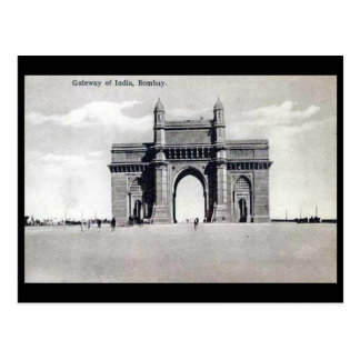 Old Postcard - Gateway of India, Mumbai