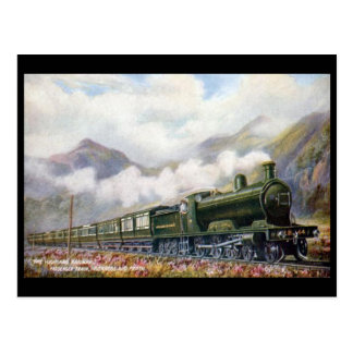 Old Postcard - Highland Railway