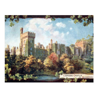 Old Postcard - Lismore Castle, Co Waterford