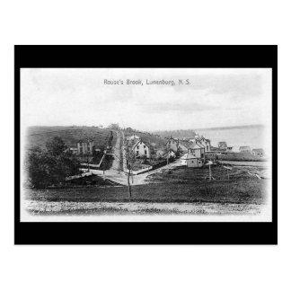 Old Postcard - Lunenburg, Nova Scotia